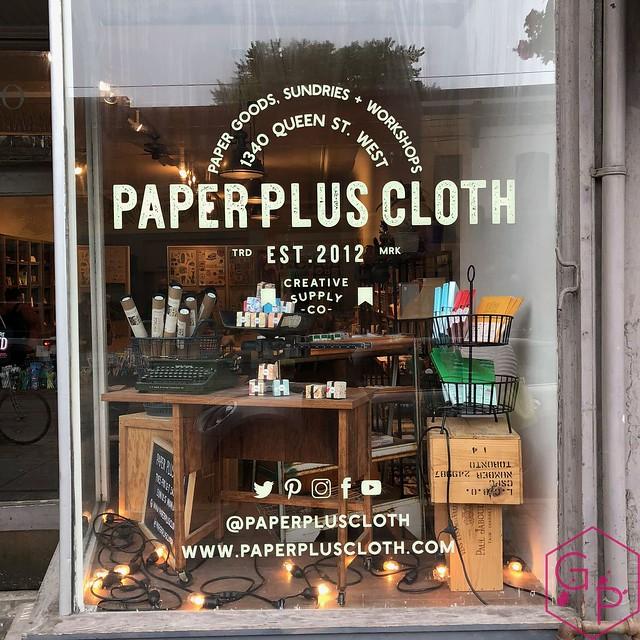 Field Trip @PaperPlusCloth in Toronto, Ontario 30