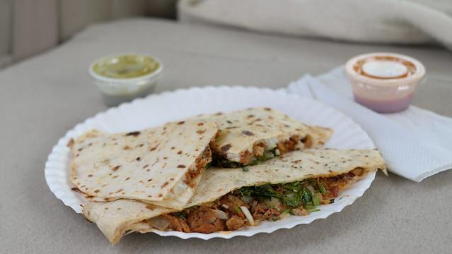 Gringa from El Buen Mexicano Taco Truck in Clive, Iowa