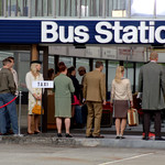 Filming of IP Man 4 at Preston Bus Station -