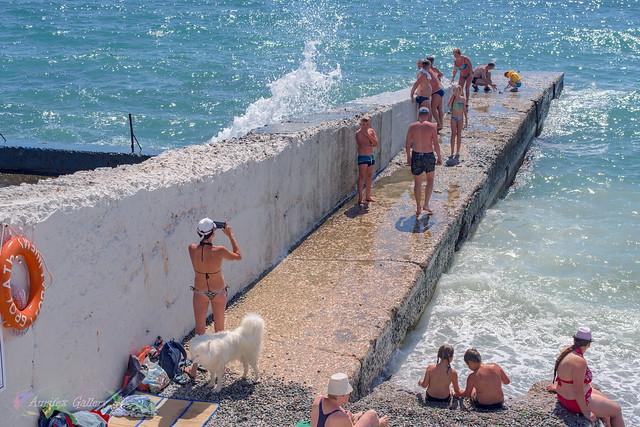 Crimean beach 2018