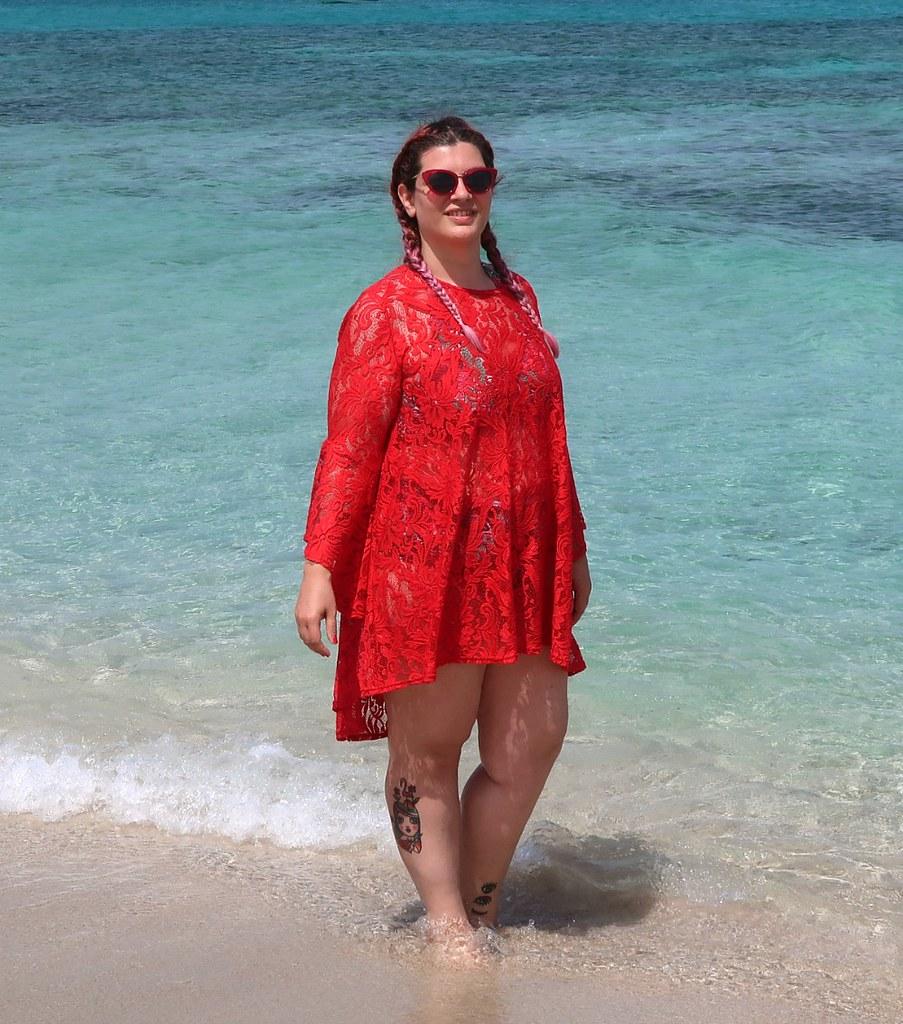 Outfit mare curvy plus size, copricostume Lily La tigresse (10)