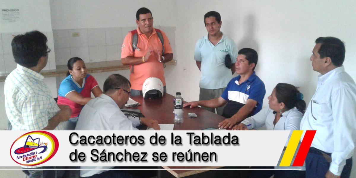 Cacaoteros de la Tablada de Sánchez se reúnen