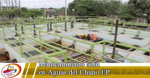 Mantenimiento total en Aguas del Chuno EP