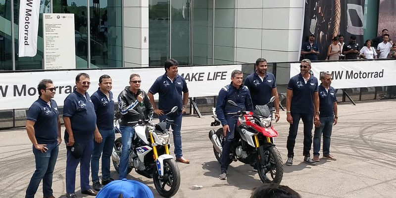 BMW GS Launch