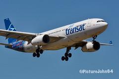 A330: TS350 Air Transat Airbus 330-200 (C-GTSZ) from Toronto Pearson a