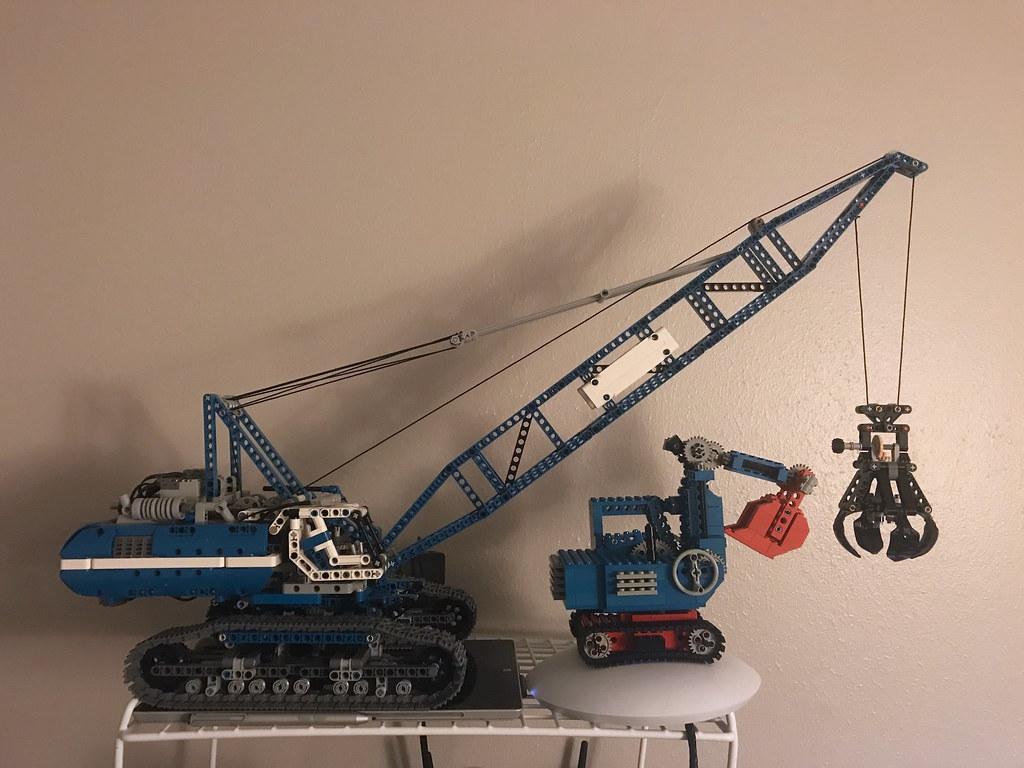 Excavator Comparison with 42042