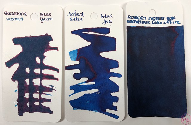 Blackstone Blue Gum Ink Review @AppelboomLaren 2