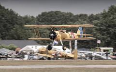 Boeing Stearman lowpass take off