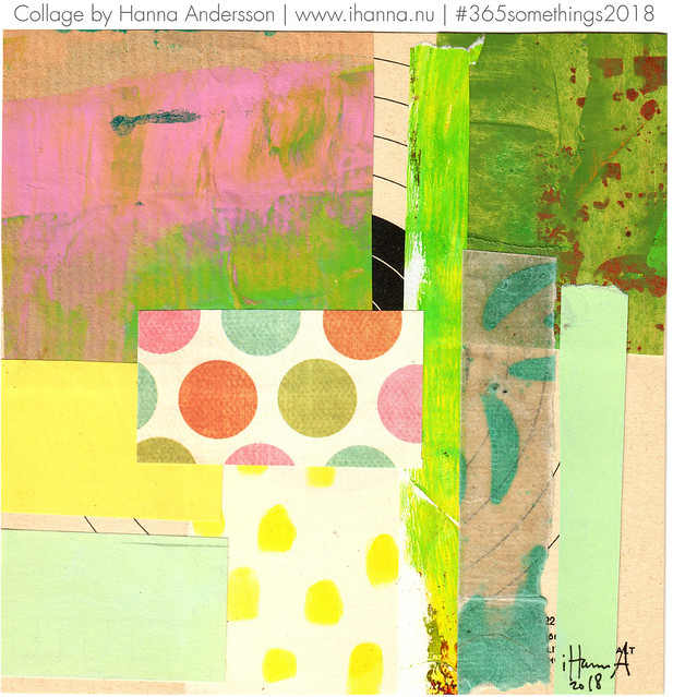 Parrot Palette - Collage no 138 by iHanna