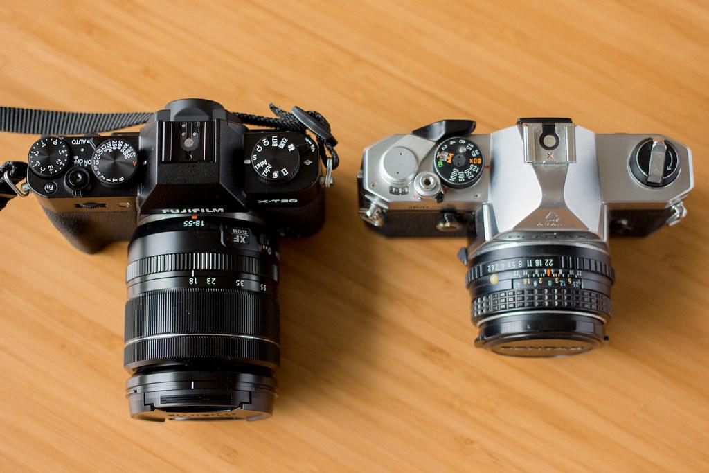 X-T20とPENTAX MX