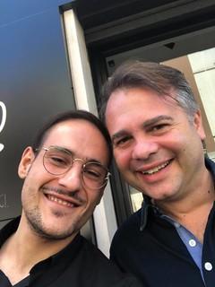 Don Gaetano e don Mario Lamorgese