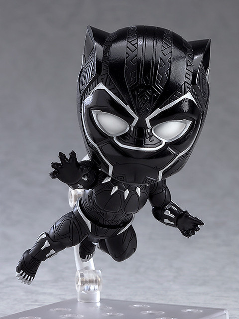 Defend Wakanda with Nendoroid Black Panther: Infinity Edition!