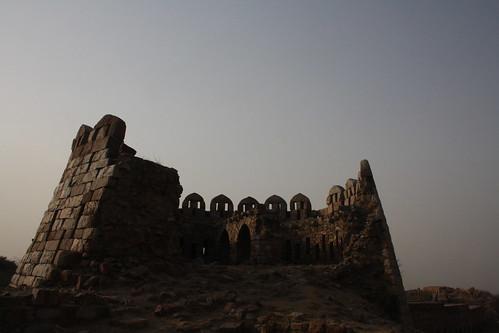 City Monument - Tughlakabad Fort, South Delhi