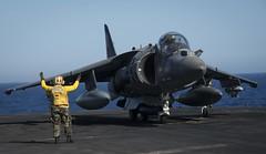 VMA-542 Tiger prepares to take-off