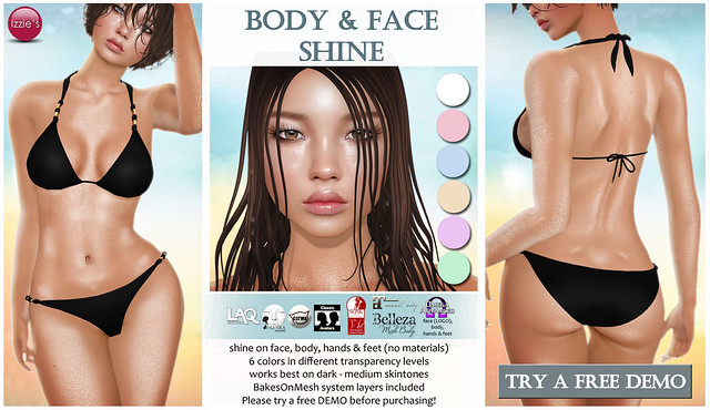 Body & Face Shine (for Summerfest)