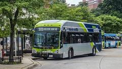 Montgomery County Transit Ride On 2017 Gillig Low Floor BRT Plus Diesel #44070D