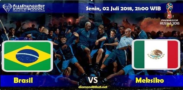 Prediksi Bola Brasil vs Meksiko , Hari Senin, 02 Juli 2018 – Piala Dunia