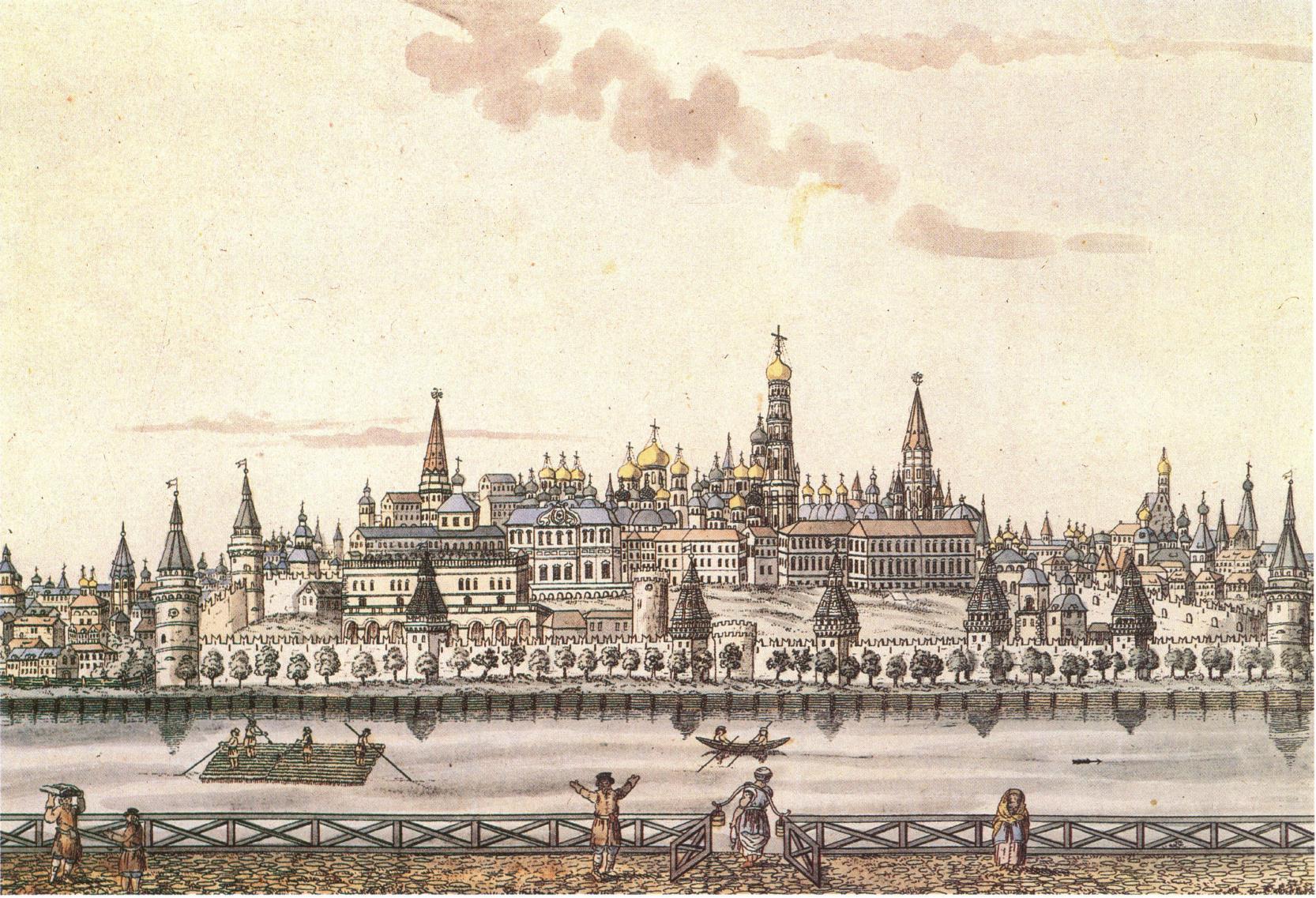 1810. Кремль или Московская крепость
