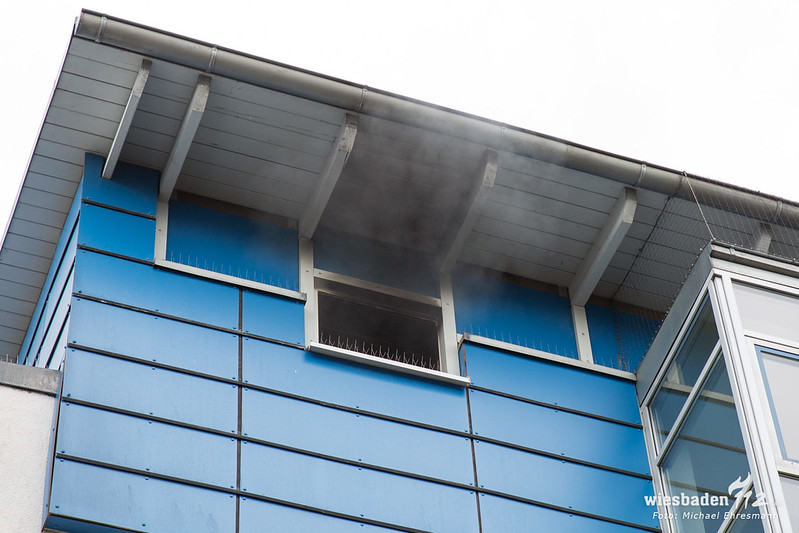 Küchenbrand Amrumer Straße 10.07.18