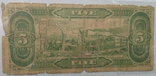 Labor Exchange 5 note Salt Lake City back