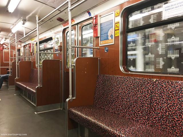 Un treno della U-Bahn