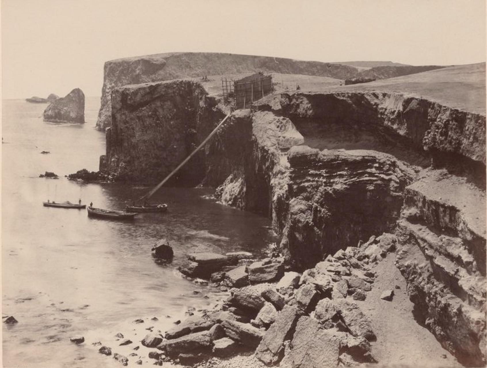 Острова Чинча. Северный Чинча. Западная точка острова
