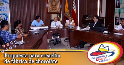 Propuesta para creación de fábrica de chocolate