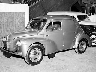 Renault 4CV - Commerciale - Rustines - 1951