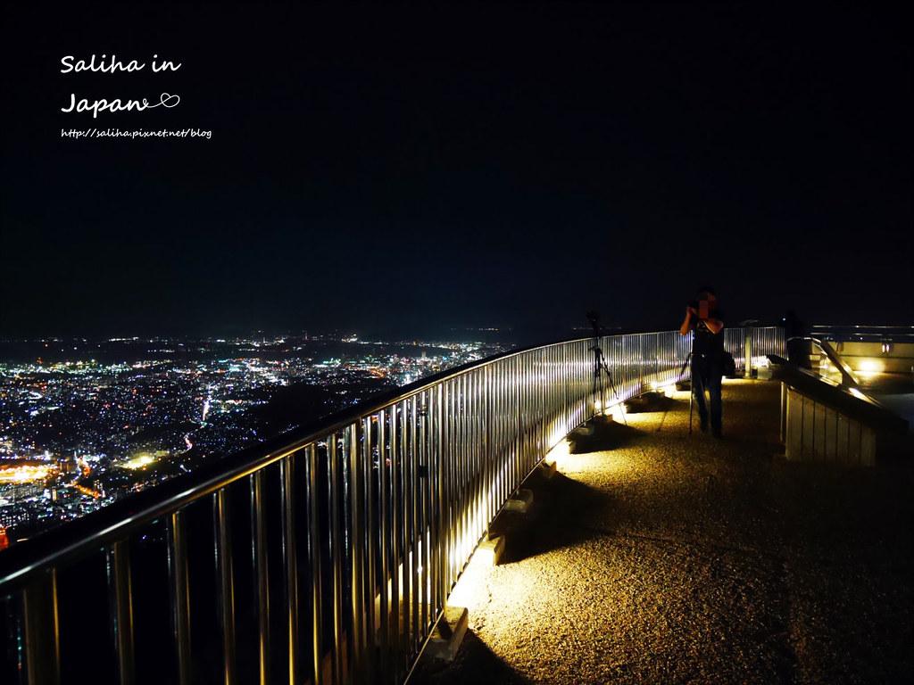 日本九州福岡皿倉山夜景纜車 (5)