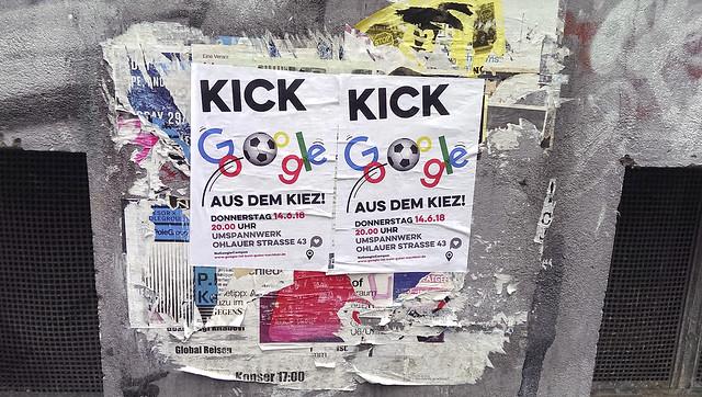 Kick Google aus dem Kiez (14.06.2018)