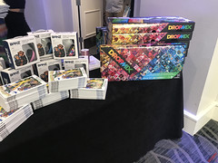 Swag Table at the 2018 Secret Room Gifting Suite for the MTV TV & Movie Awards - IMG_7597