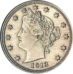 Walton 1913 Liberty Nickel obverse
