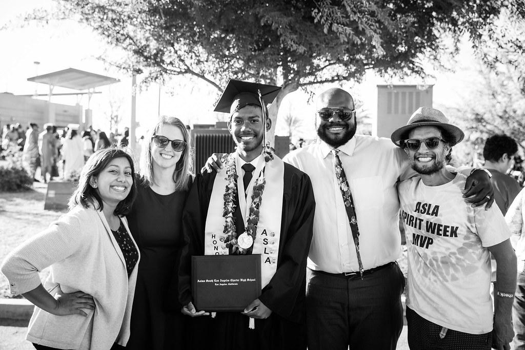 Ánimo South Los Angeles High School Graduation 2018