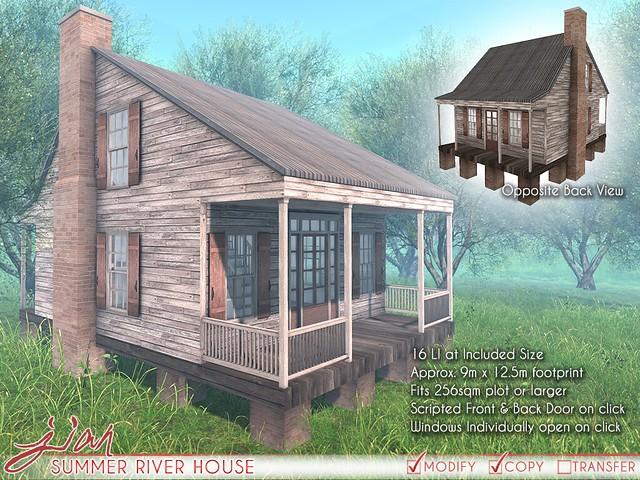JIAN Summer River House (Uber 6/25/18)