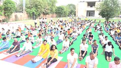 International Yoga Day Celebration Rajasthan Prant