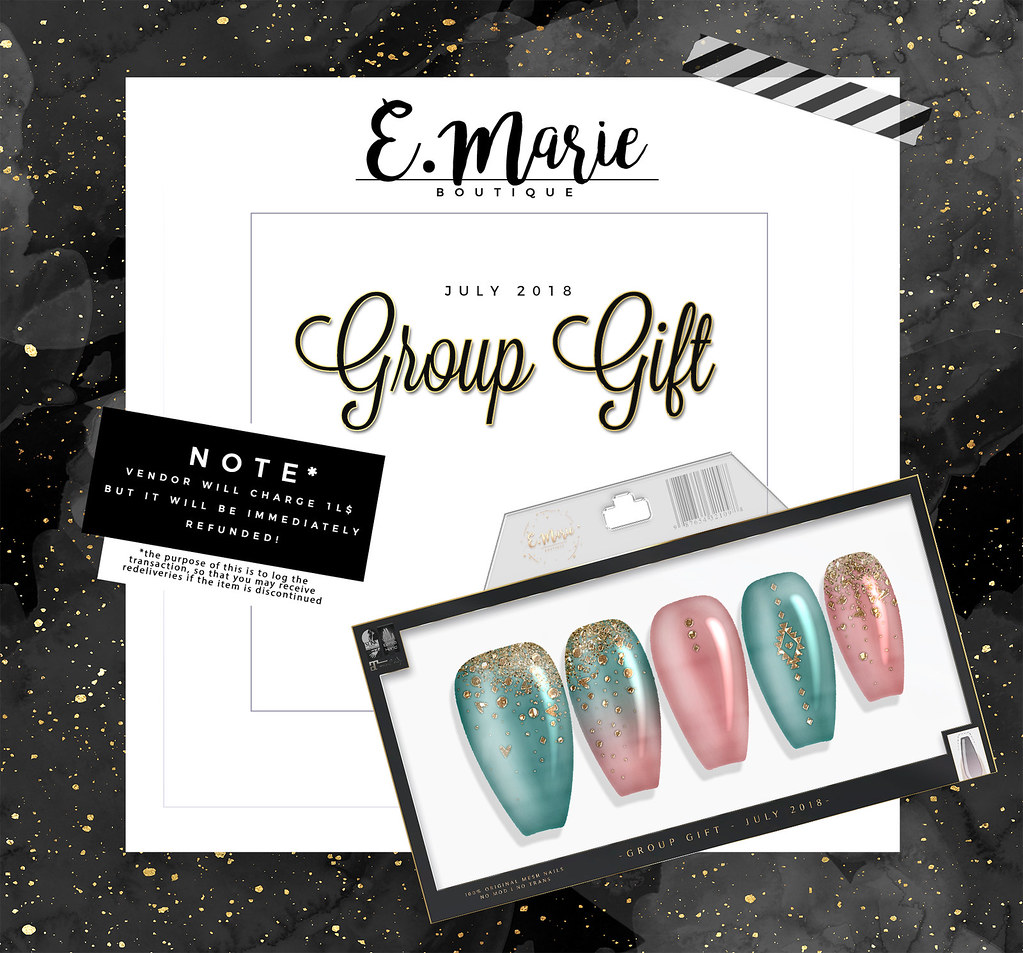 e.marie // Group Gift July - TeleportHub.com Live!