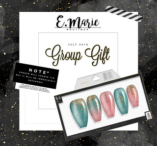 e.marie // Group Gift July