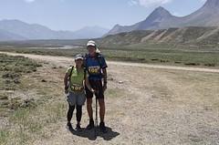 Jediným cizincem ve startovním poli mužů horského ultra v Íránu