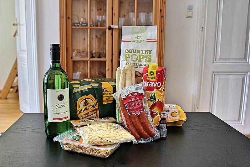 Austrian groceries