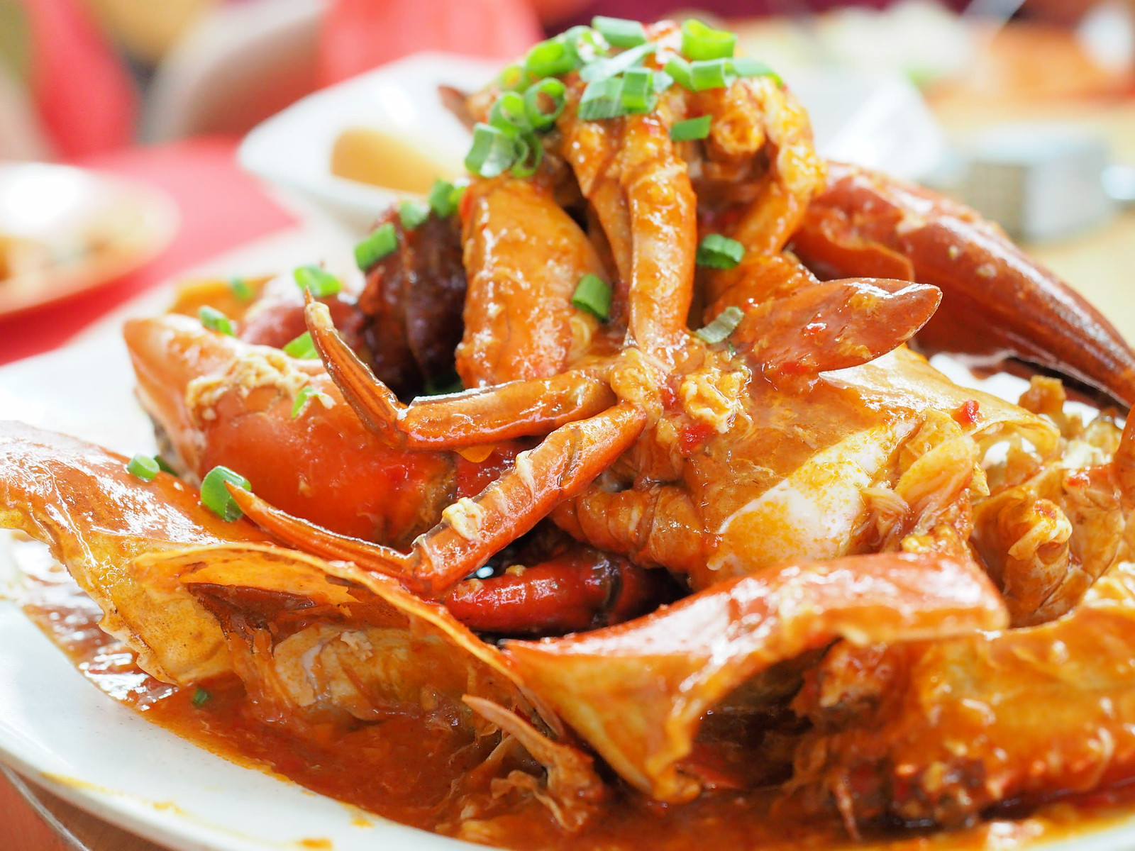 Sweet and Sour crab at Pangkor Village Seafood, Taman Megah