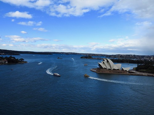 Views from the Harbour Bridge