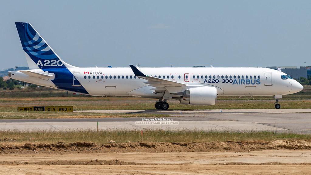 Airbus A220-300 Cseries CS300 C-FFDO