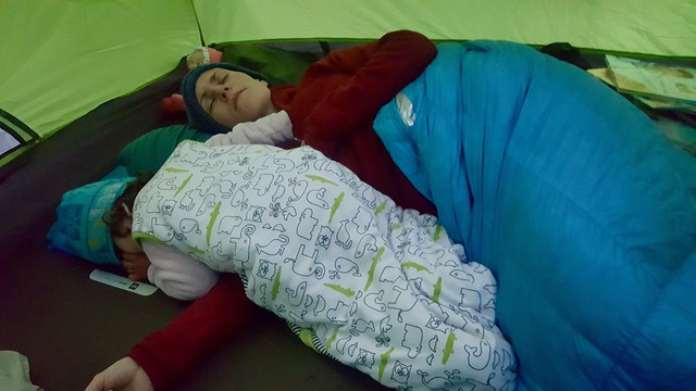 Sleeping in the Tent