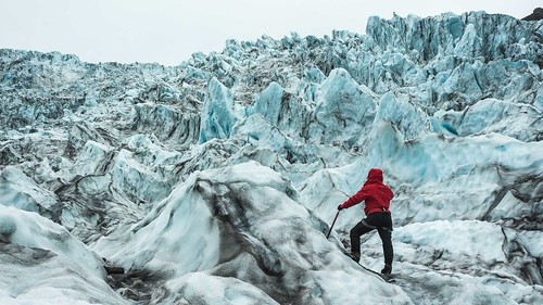 Falljökull Ice Fall- Norris Niman. From Visiting Iceland: All you need to know about glaciers