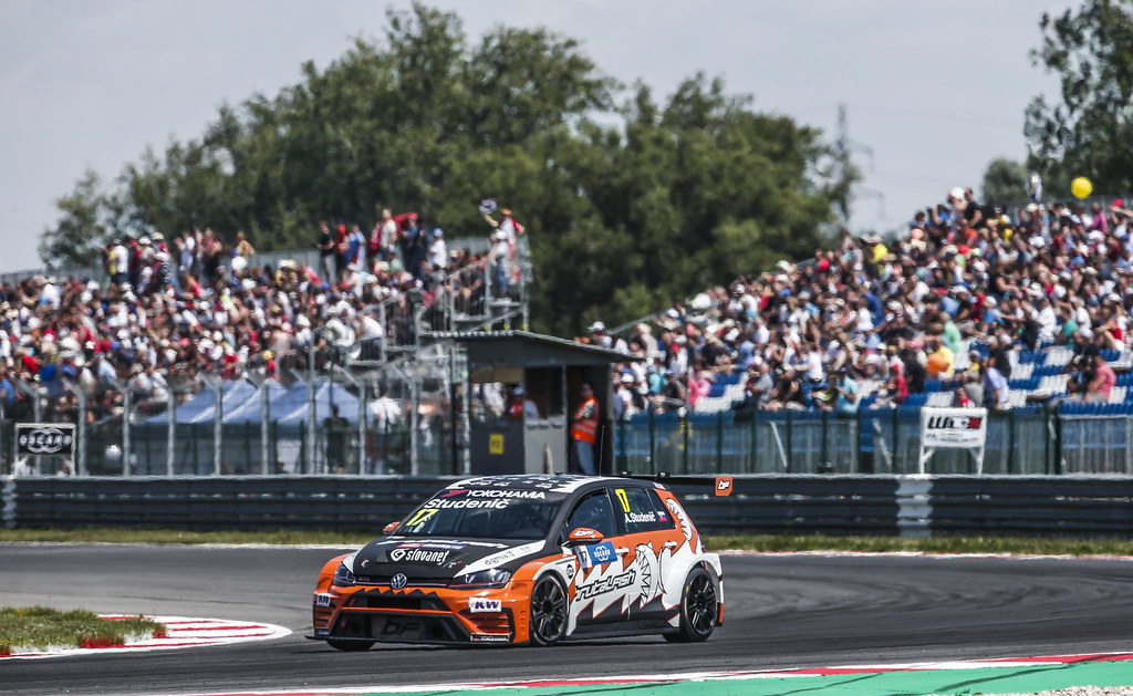 17 STUDENIC Andrej (svk), Volkswagen Golf GTI TCR team Brutal Fish Racing, action during the 2018 FIA WTCR World Touring Car cup race of Slovakia at Slovakia Ring, from july 13 to 15 - Photo Jean Michel Le Meur / DPPI