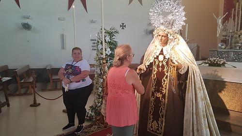 Besamano de la Virgen del Carmen de la Agrupación del Prendimiento