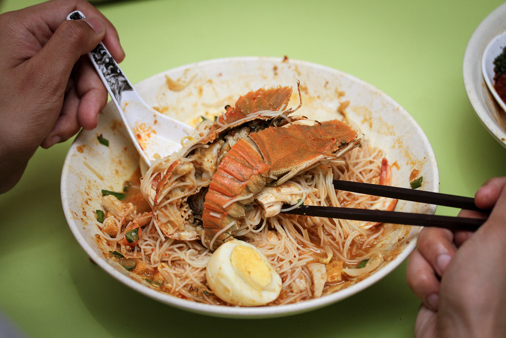 Famous Sungei Road Trishaw Laksa Mee Siam - Crayfish