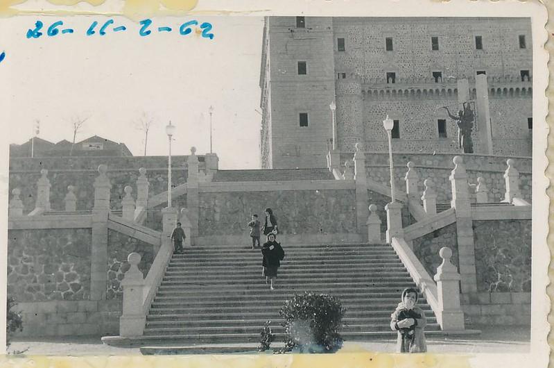 Jardines del Alcázar en 1962. Fotografía de Julián C.T.