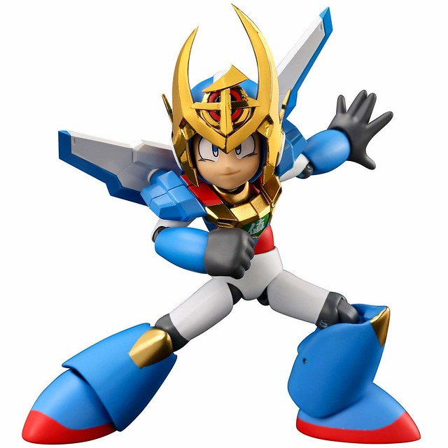 Sentinel Toys Deploys the Nel Mega Man 30th Anniversary 4Inch-Nel Figure!
