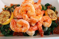 Shrimp & Spinach